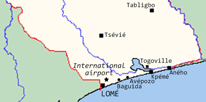 Coastal region of Togo